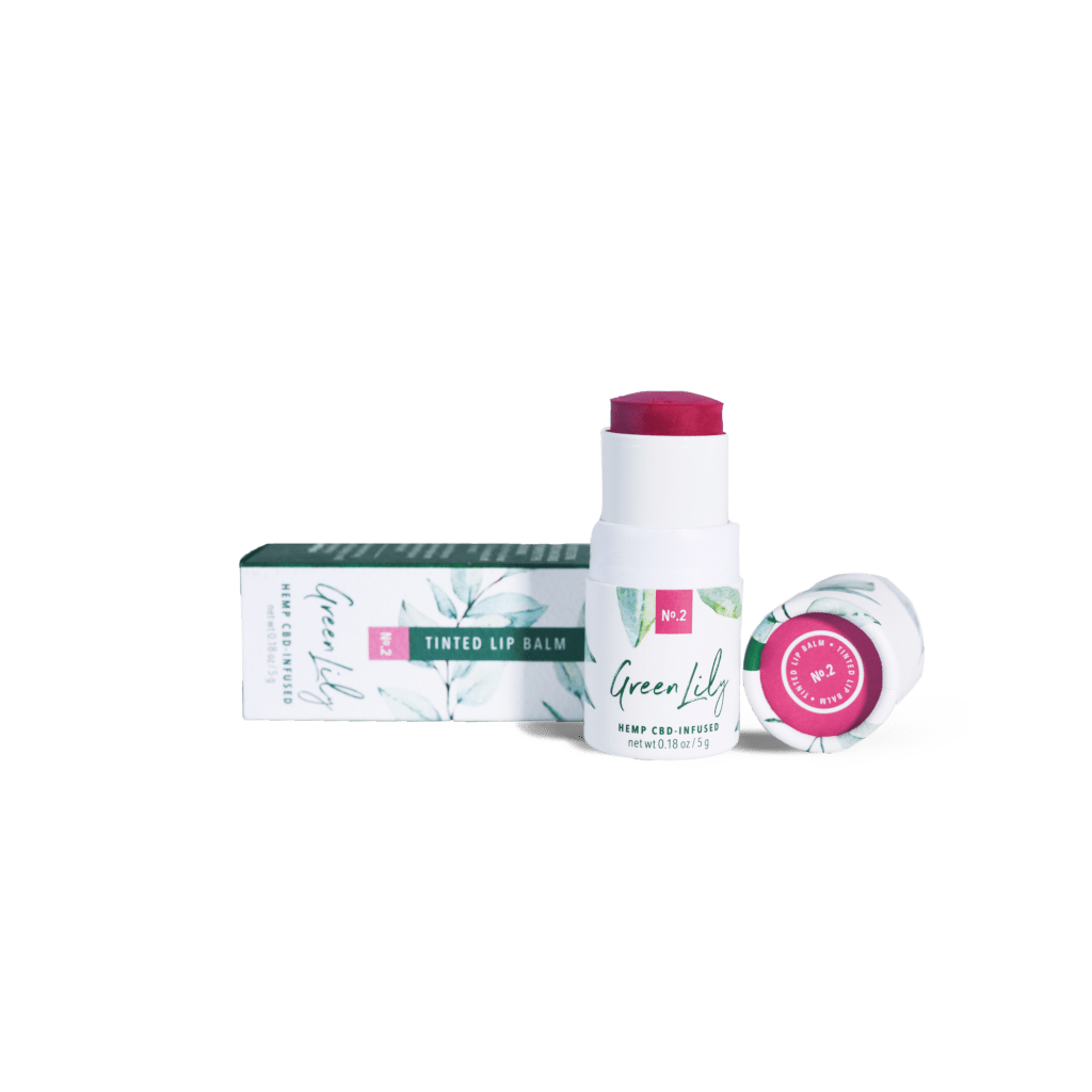 Green Lily Tinted Lip Balm No.2 Berry