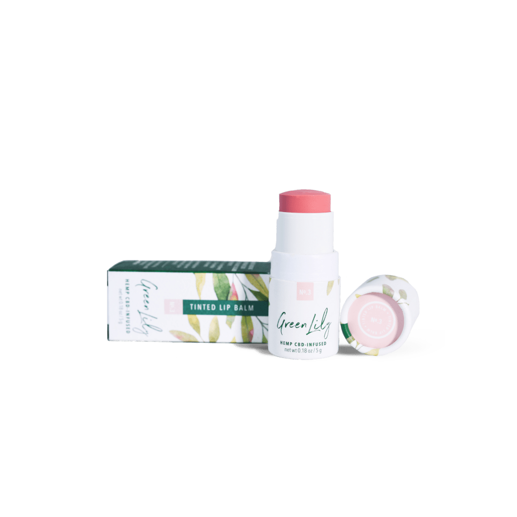 Green Lily Tinted Lip Balm No.3 Nude