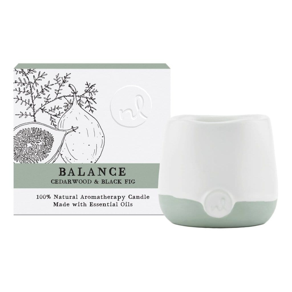 Balance Candle - Cedarwood & Black Fig
