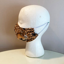 Load image into Gallery viewer, Leopard Face Spot Print Face Mask