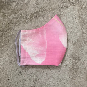 Pink Cotton Candy Print Face Mask