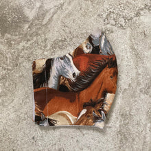 Load image into Gallery viewer, Vintage Wild Horse Pony Print Face Mask