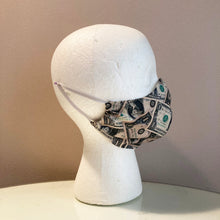 Load image into Gallery viewer, Cash Money Print Face Mask