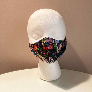 Realistic Floral Print Face Mask