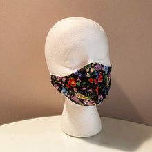 Load image into Gallery viewer, Realistic Floral Print Face Mask