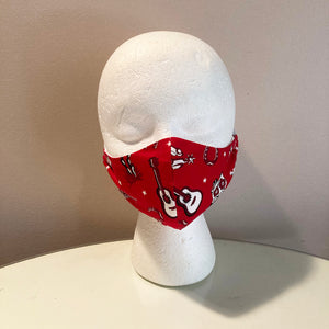 Vintage Wild West Rodeo Face Mask