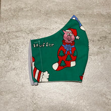 Load image into Gallery viewer, 1980s Vintage Piggy Stocking Stuffer Face Mask