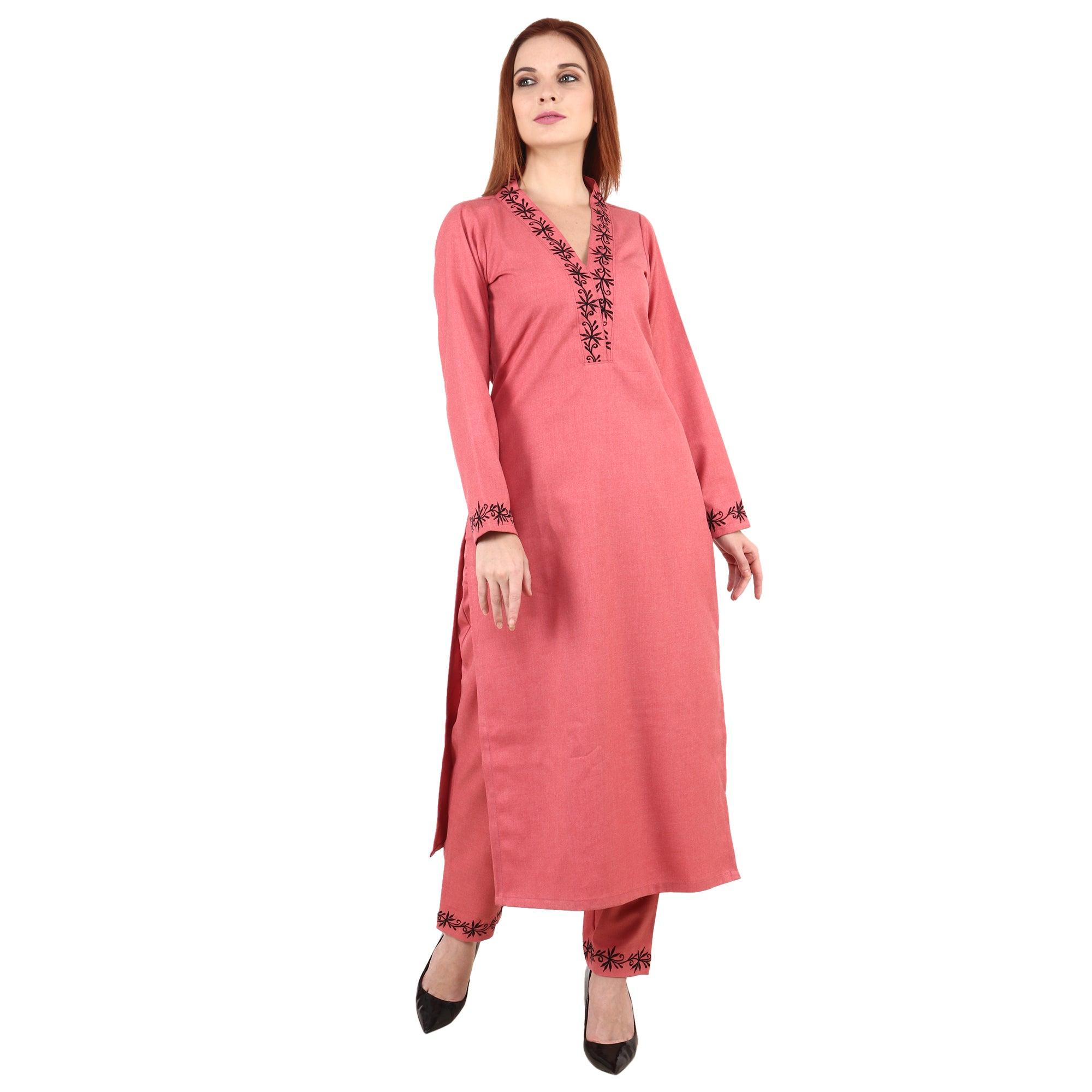 3/4 QUARTER SLEEVES, apella, COFFEE, kurta online, kurtas online, kurti, kurtis online, MANDARIAN, plus size. all sizes, reasonale price, WINTER KURTI, WINTER WEAR