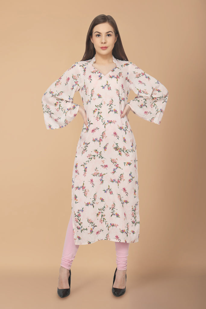 apella, cotton, FLATTERING SLEEVES, kurta online, kurtas online, kurtis online, MANDARIAN NECK, plus size. all sizes, rayon, reasonale price, SOFT MULMUL FABRIC