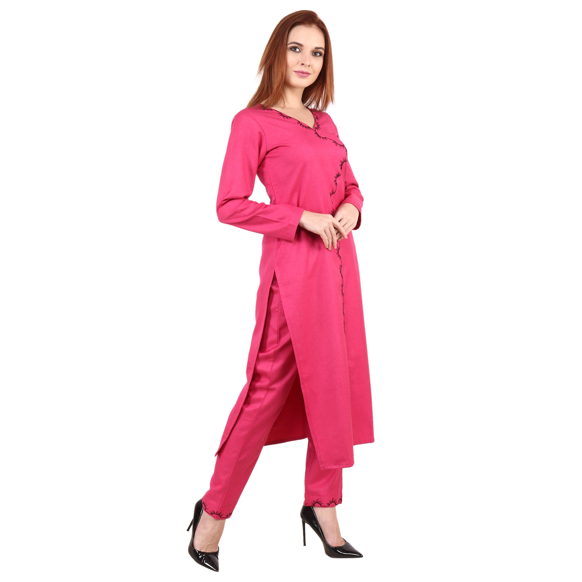 Perfect Pink Kurta - Apella
