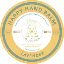 Load image into Gallery viewer, Happy Quokka Hand Lavender Balm