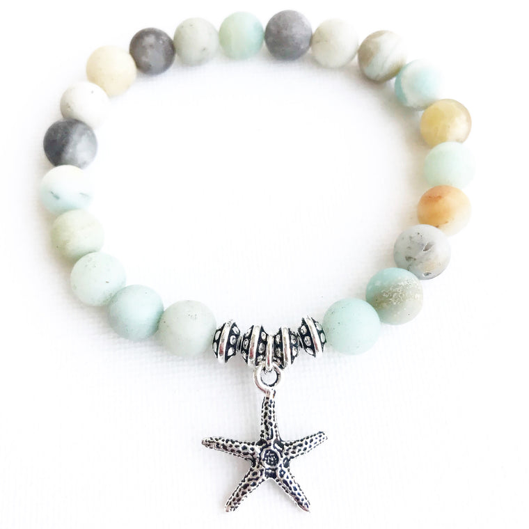 Sea Star ~ Amazonite