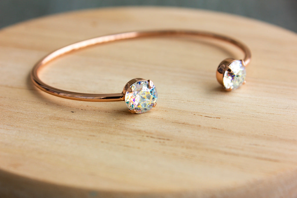 Crystal Patina Swarovski Balance Bangle