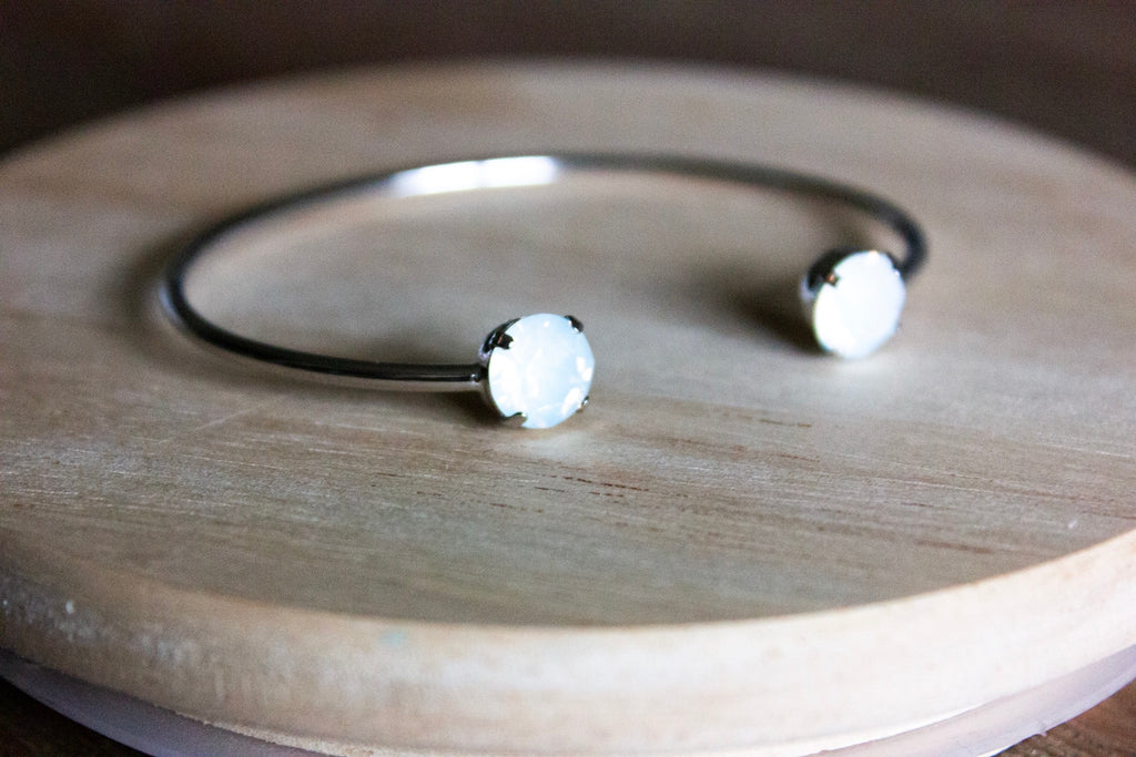 Crystal Pastel Swarovski Balance Bangle