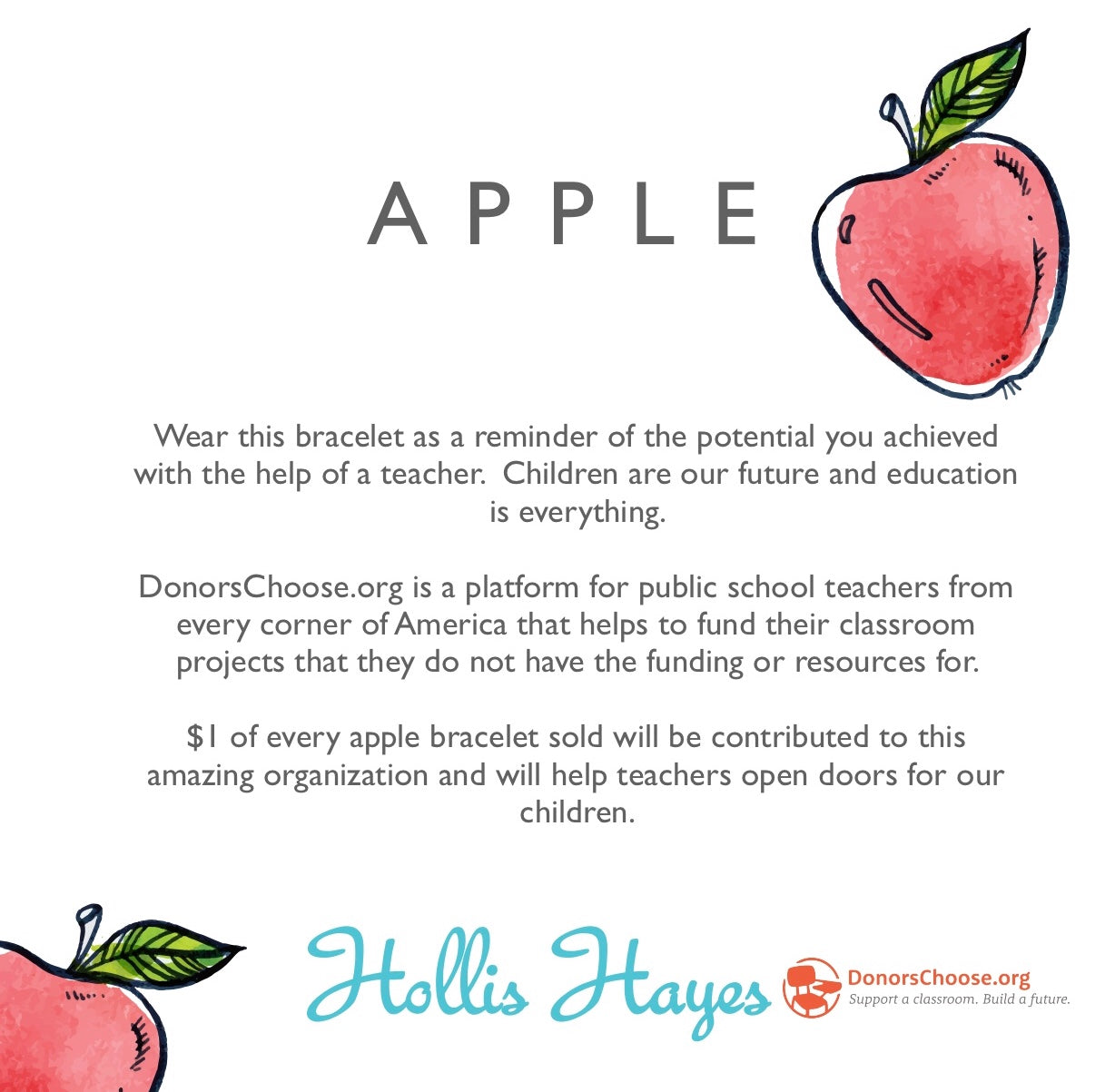 Apple - DonorsChoose.org