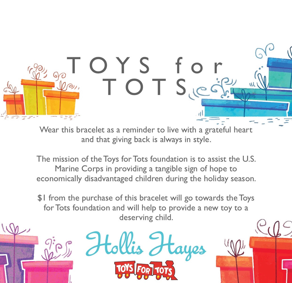 Holiday Bow - United States Marine Corps Toys for Tots Foundation