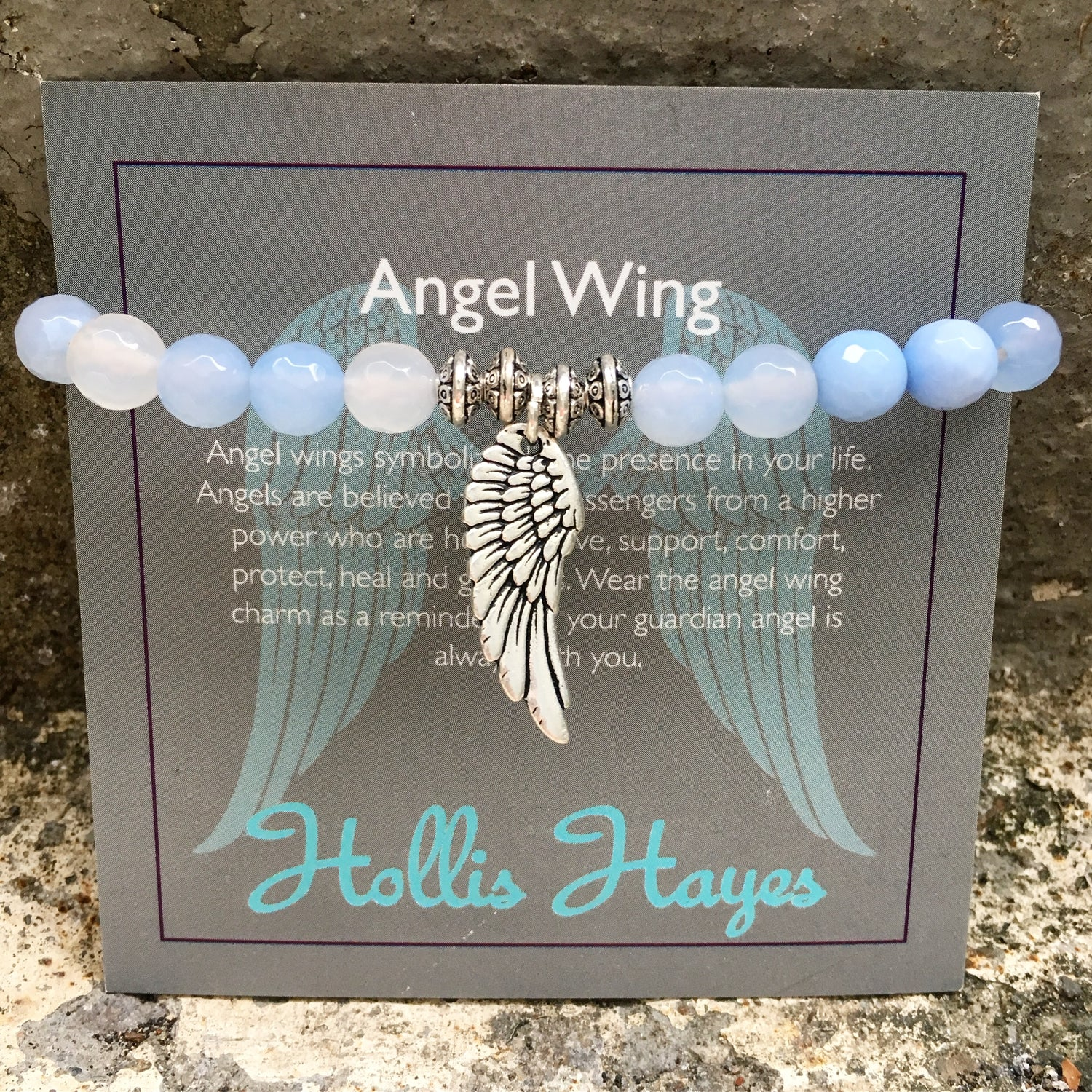Angel Wing - Blue Lace
