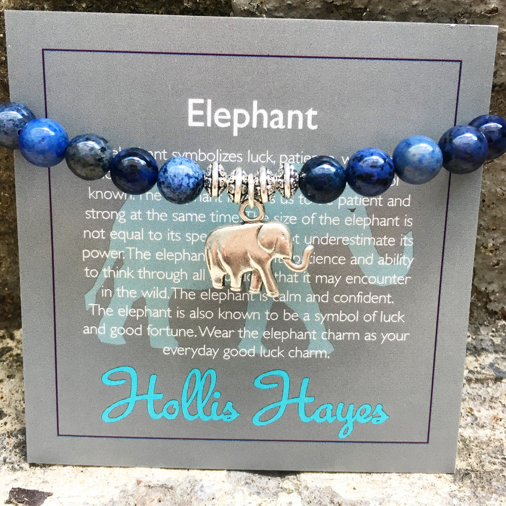Elephant - Midnight Blue Jasper