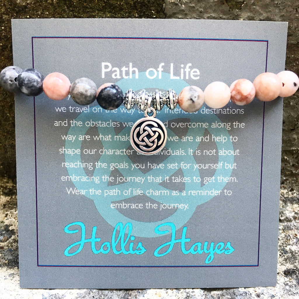 Path of Life - Pink Zebra Jasper