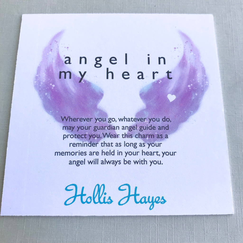 Angel in my heart - rose quartz