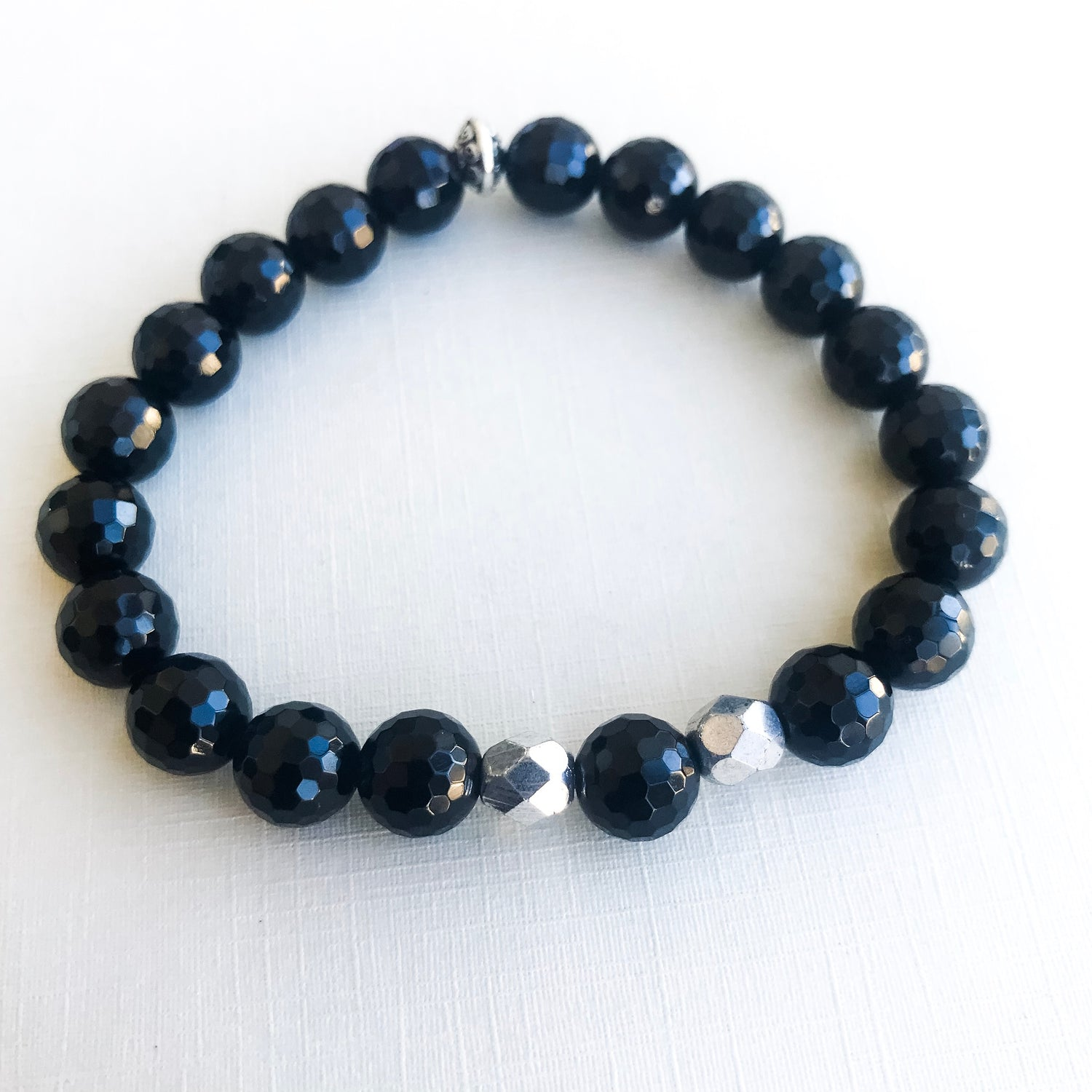 Declare. Believe. Achieve - Black Onyx Faceted