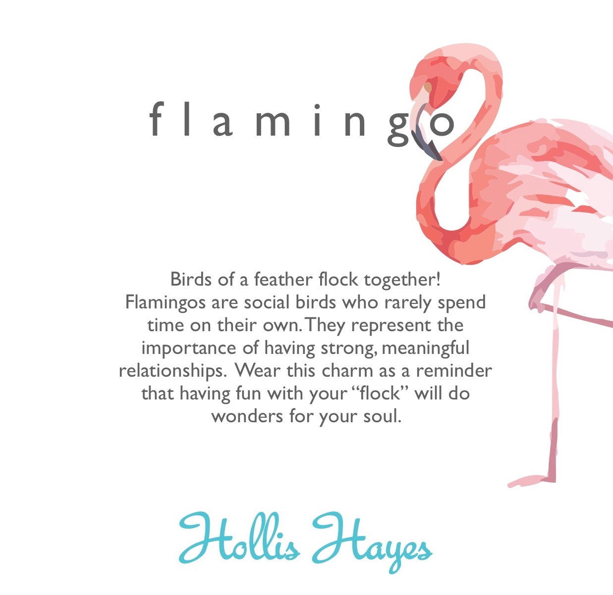 Flamingo - Pink Rainbow