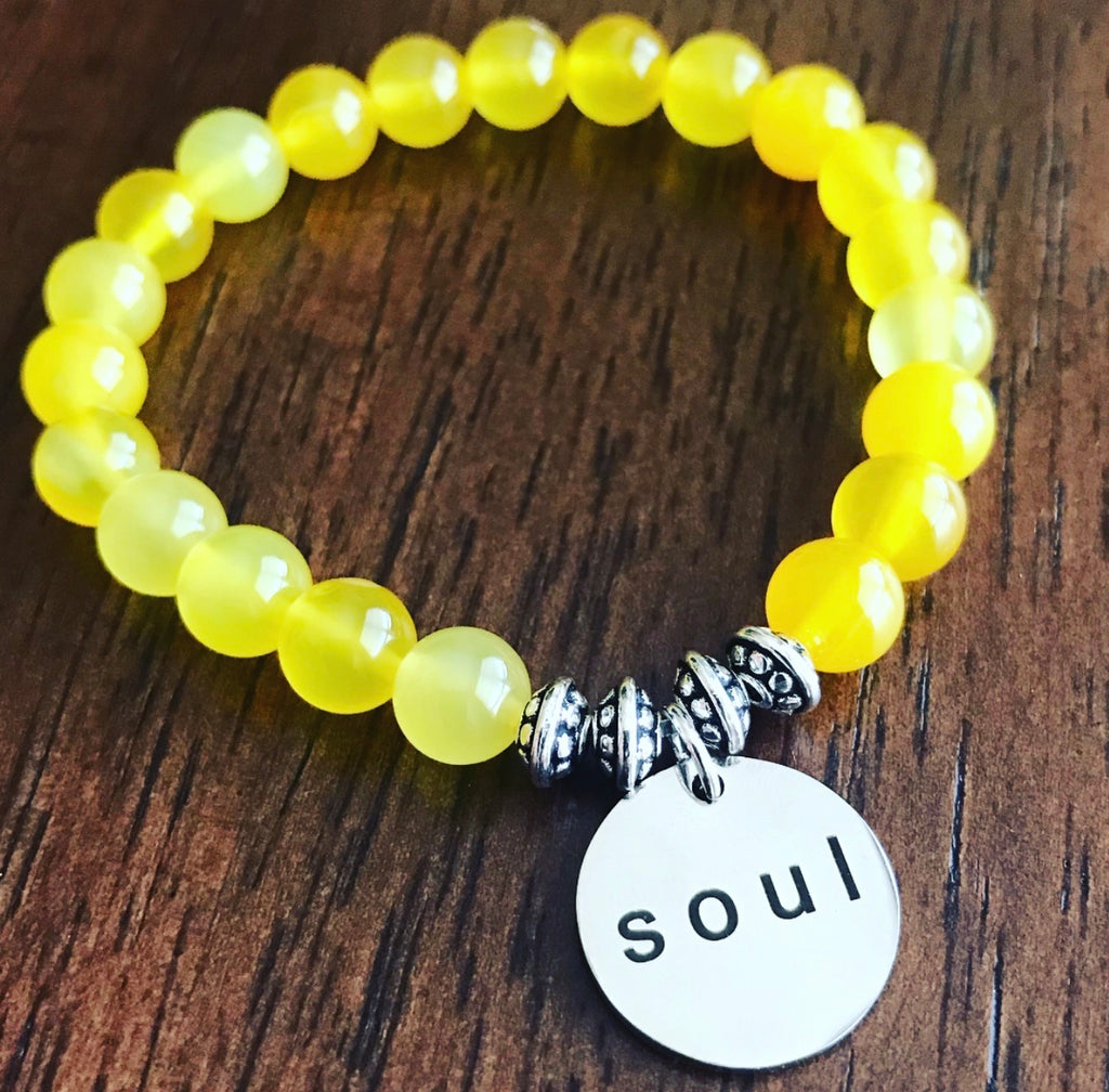 Soul - Yellow Agate