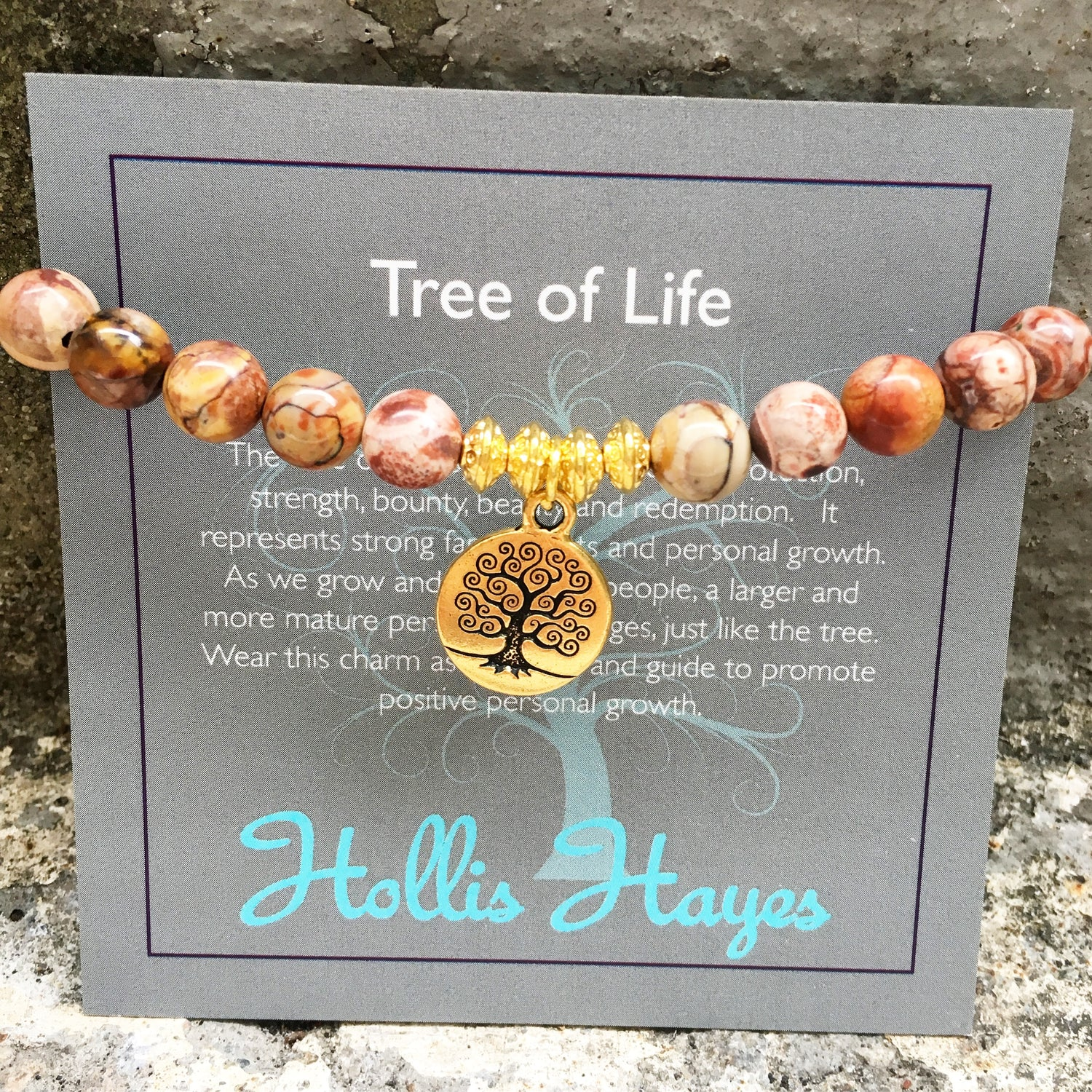 Tree of Life - Birdseye Rhyolite