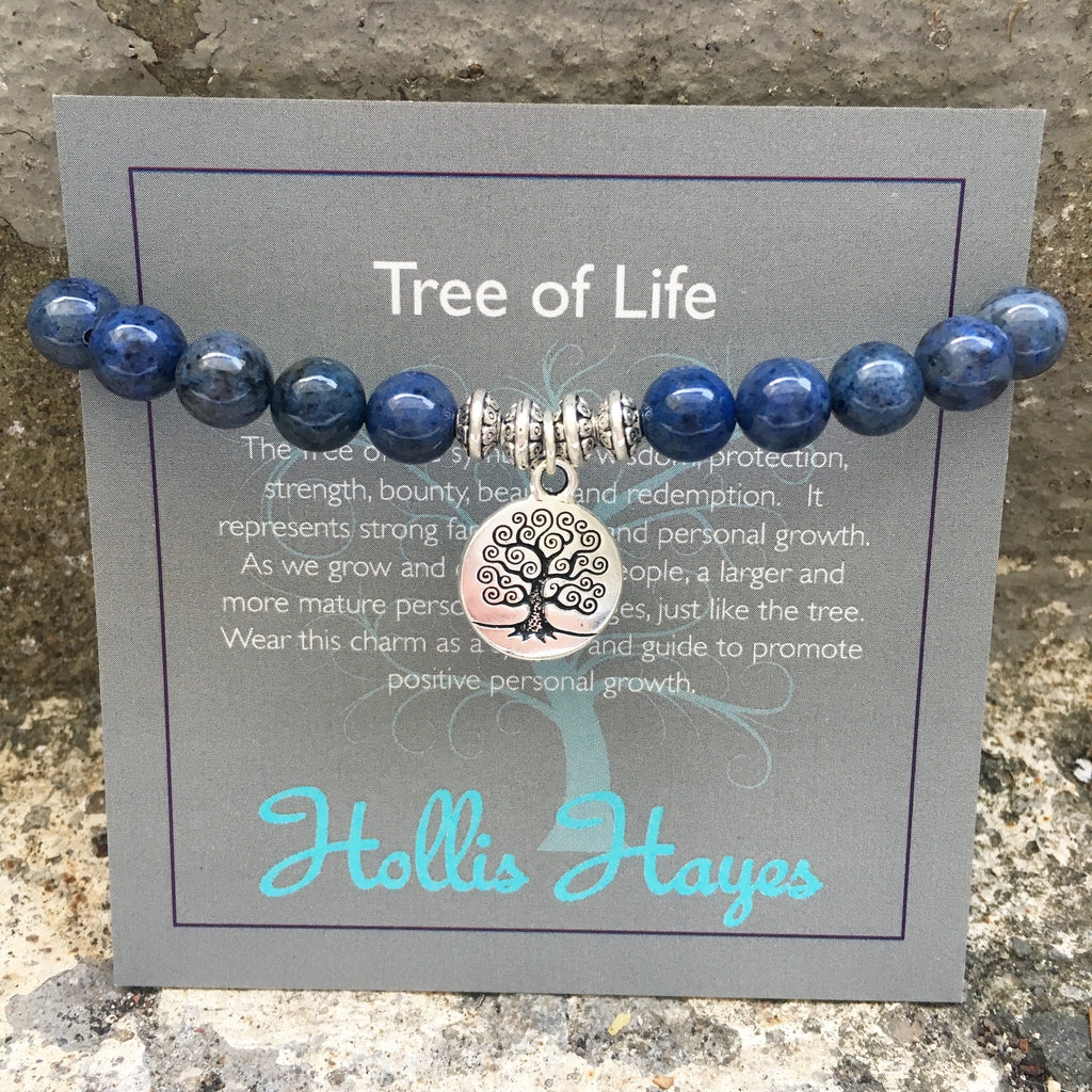Tree of Life ~ Midnight Blue Jasper