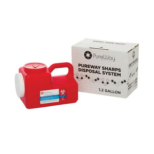 1.2 Gallon Sharps Disposal Container System (Single)