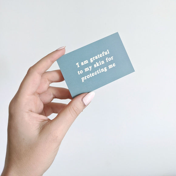 Real Skin Club Skin Positivity Affirmation Cards