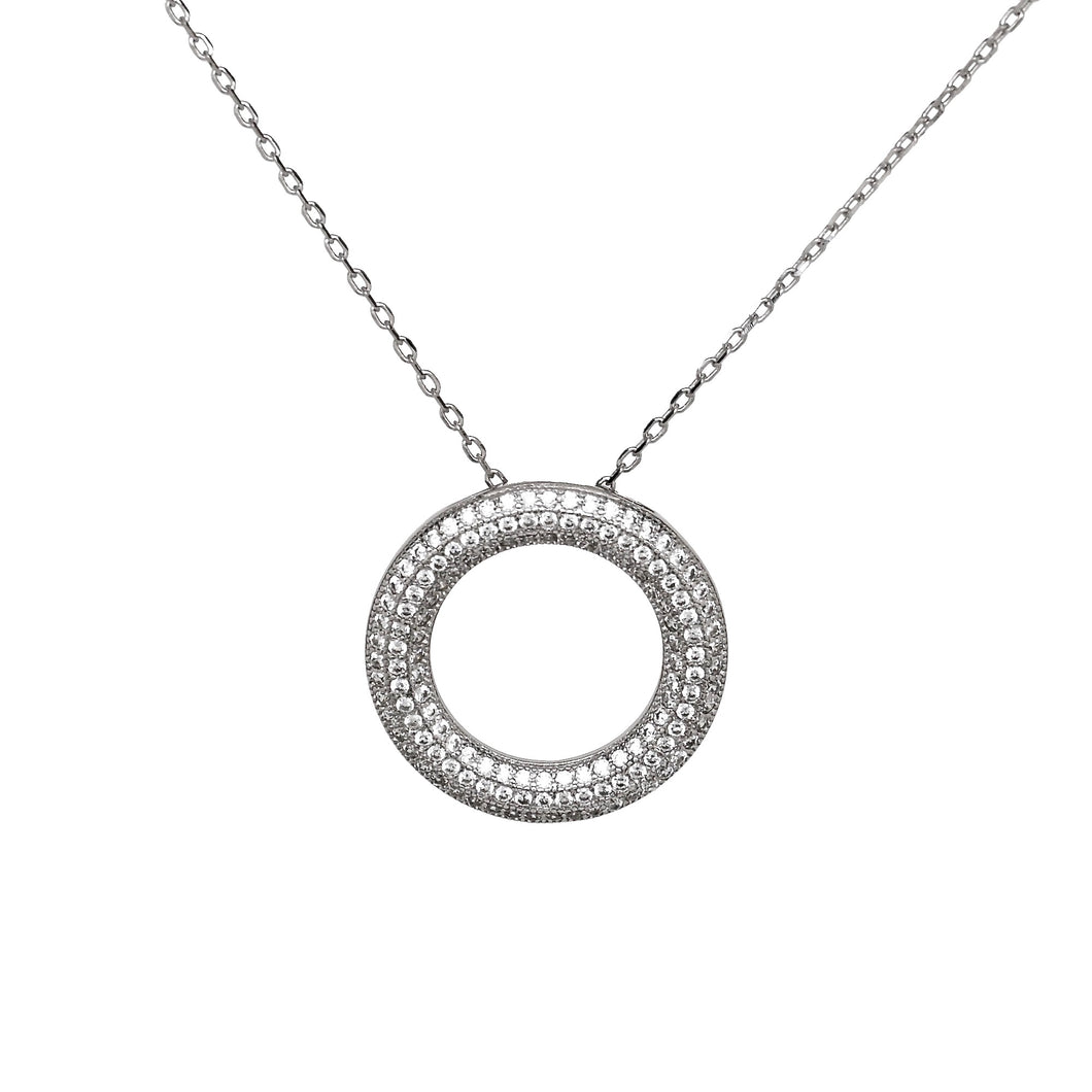 925 Sterling Silver Micro Pave