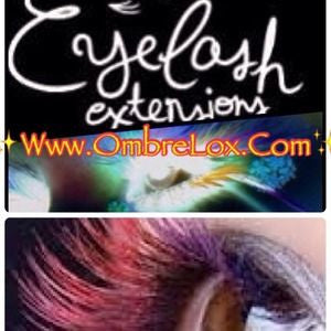 OmbréLox™ Eyelash Extensions In (WILDBERRY)