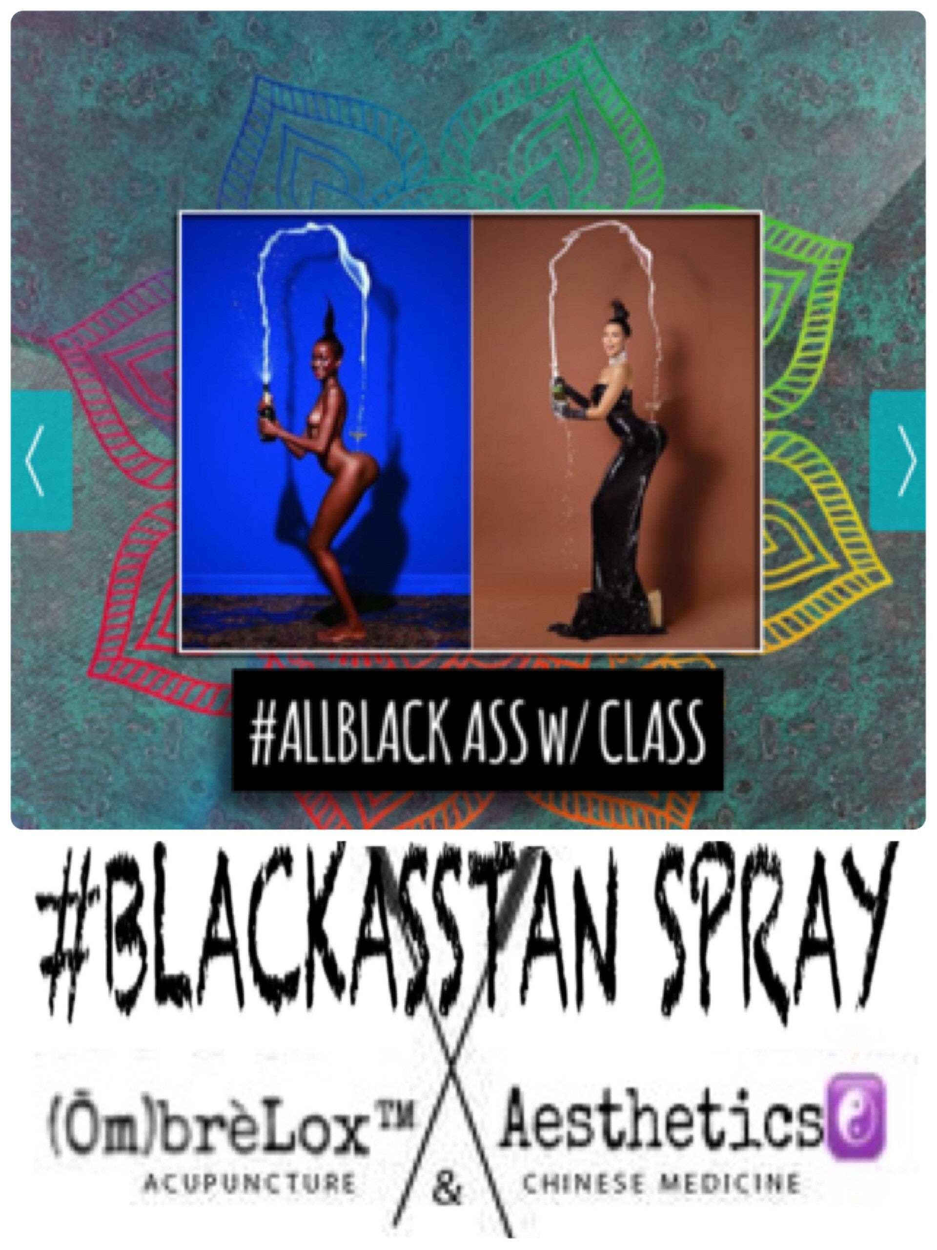 #BLACKASSTAN SPRAY by OmbrèLox™ Skincare