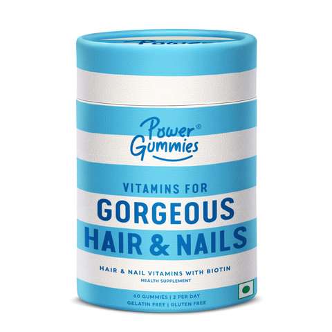 power gummies a complete hair care solution to rescue from air pollution, dirt, soot and gases