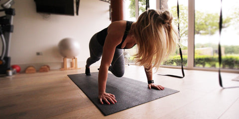 Power Gummies - Mountain Climber Exercises For Burning Calories at Home