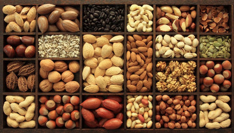 Power Gummies - Nuts like Walnut, Almonds, Cashews best Remedies of reducing Period Pain at Home