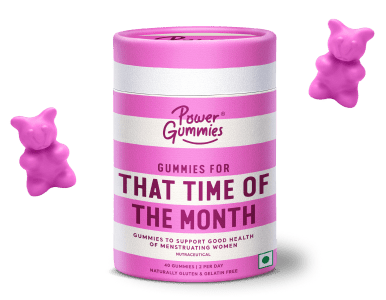 Power Gummies - That Time of The Month Vitamin Gummies