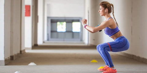 Power Gummies - Squats For Burning Calories at home