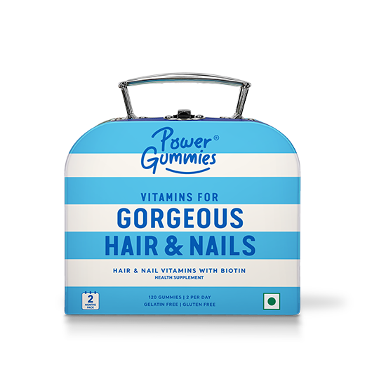 Hair & Nails Vitamins (2 months pack) - Power Gummies