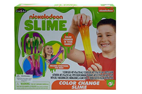 Nickelodeon Color Change Slime in Box