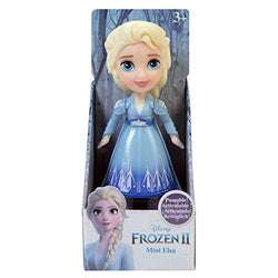 Disney Frozen II Mini Toddler Elsa Posable Doll Blue Dress