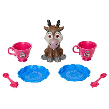 Disney Frozen Anna Doll & Sven Tea TIME Set By Jakkss Pacific