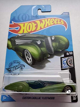 Hot Wheels 2020 Rod Squad Custom Cadillac Fleetwood, Green 121/250