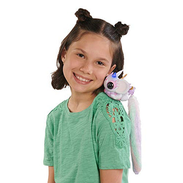 Pixie Belles - Interactive Enchanted Animal Toy, Esme (White), Layla (Purple), Aurora (Turquoise)