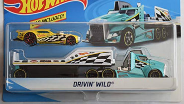 DieCast HOT Wheels Drivin' Wild CAR Included