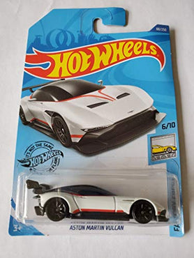 Hot Wheels 2020 Factory Fresh Aston Martin Vulcan, White 88/250