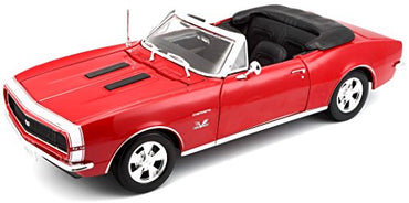 Maisto 1:18 Scale 1967 Chevy Camaro SS 396 Convertible Diecast Vehicle