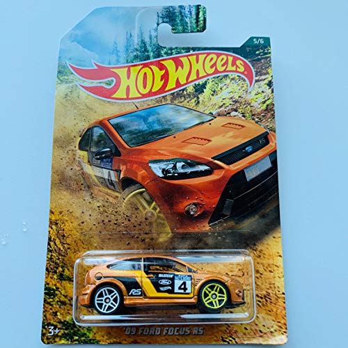 Hot Wheels '09 Ford Focus RS #5/6 Orange