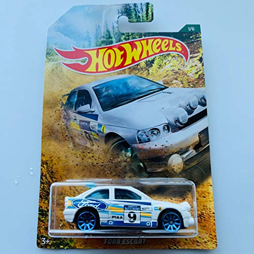 Hot Wheels Ford Escort #1/6 White